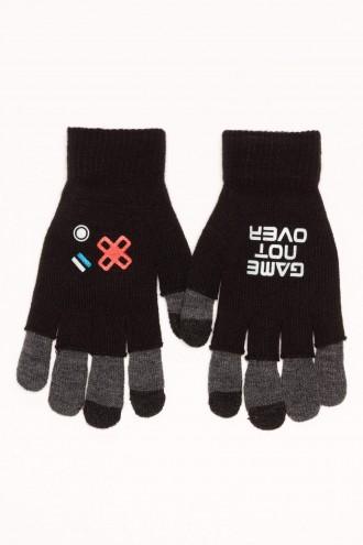 Rękawiczki chłopięce GAME NOT OVER