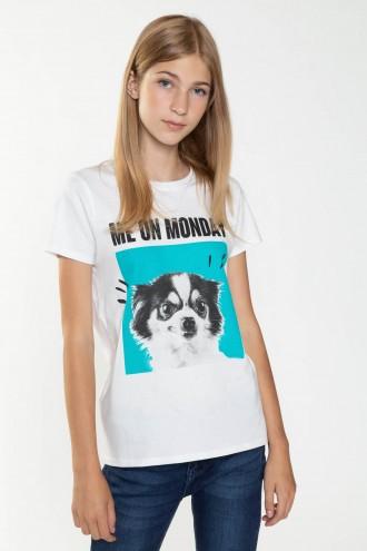 T-shirt dla dziewczyny MONDAY
