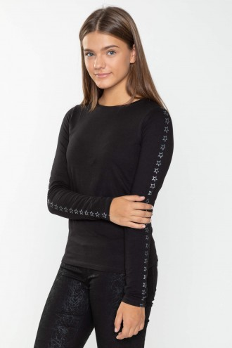T-shirt longsleeve dla dziewczyny STAR
