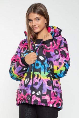 Zimowa kurtka dla dziewczyny