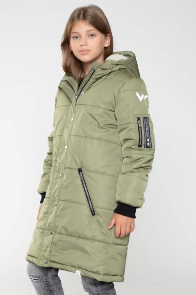 kurtki zimowe przedłużane damskie