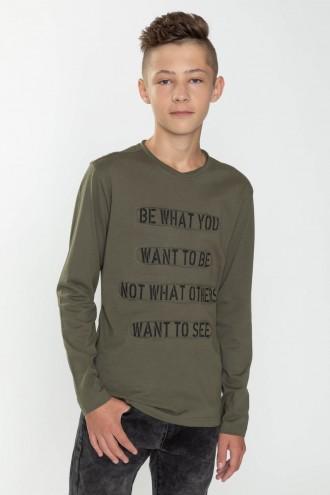 T-shirt longsleeve dla chłopaka BE
