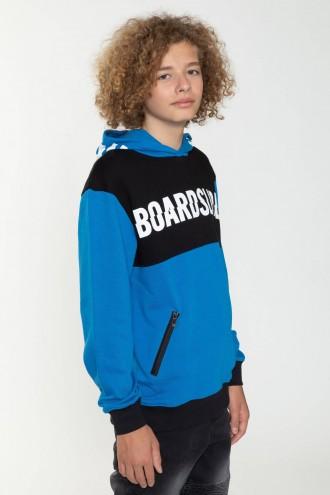 Bluza z kapturem w nadruki BOARDSLIDE