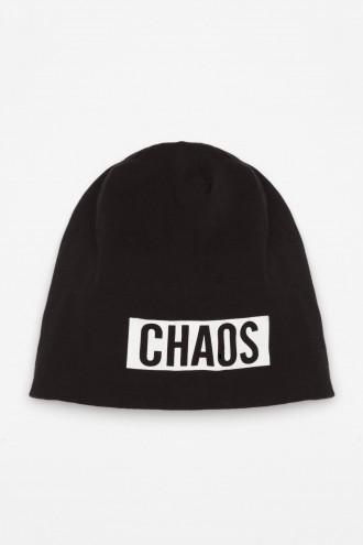 Dwustronna dzianinowa czapka dla chłopaka