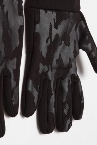 Czarne rękawiczki dla chłopaka