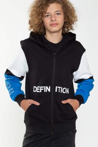 Bluza z kapturem dla chłopaka DEFINITION