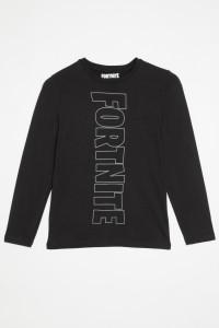 T-shirt czarny FORTNITE