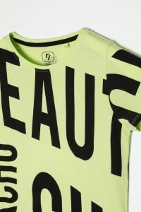 Neonowy T-Shirt dla dziewczyny