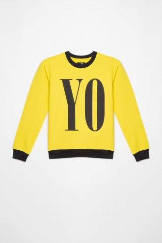 Żółta bluza dla dziewczyny YO