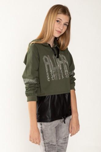 Bluza w kolorze khaki ALOHA
