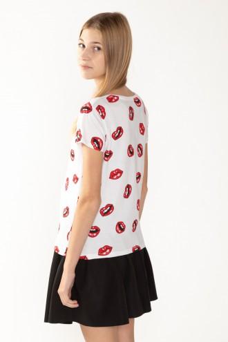 T-Shirt w nadruki dla dziewczyny EPIC GIRL