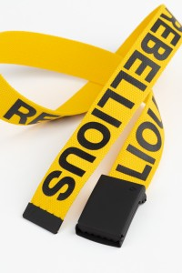 Żółty pasek dla chłopaka