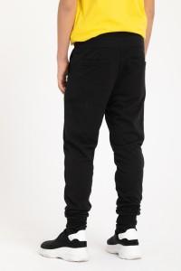 Spodnie dresowe z kieszenią na kolanie