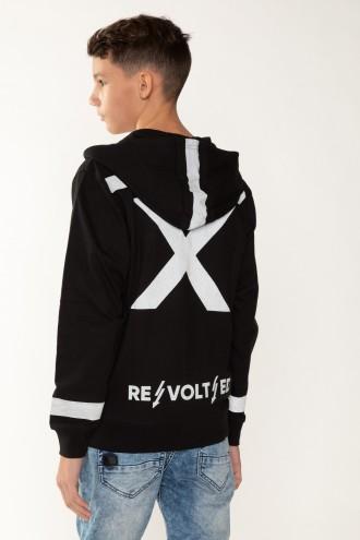 Czarna bluza dla chłopaka REVOLTED