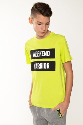 Zielony T-Shirt WEEKEND WARRIOR