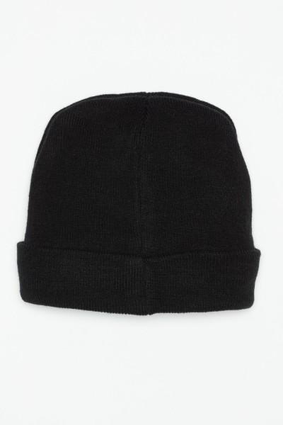 Czarna czapka dla chłopaka SUPER