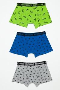 Kolorowe bokserki dla chłopaka (3 pack)