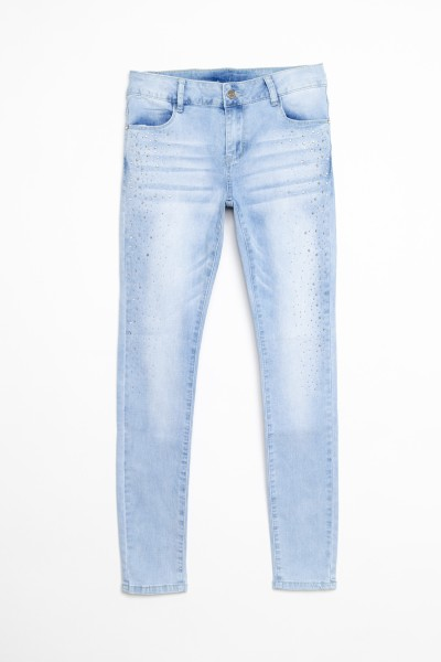 Błękitne jeansy dla dziewczyny