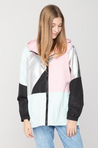 Kolorowa kurtka sportowa dla dziewczyny