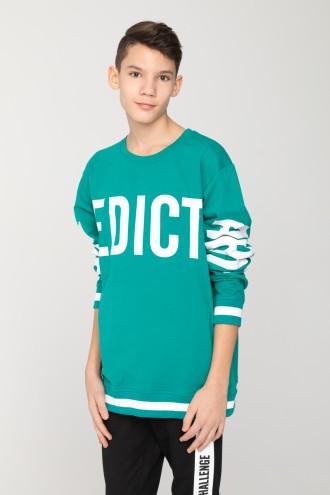 Zielona bluza EDICT  dla chłopaka