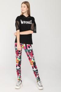 Kolorowe legginsy GRAFFITI