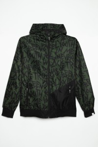 Wiosenna kurtka z kapturem dla chłopaka