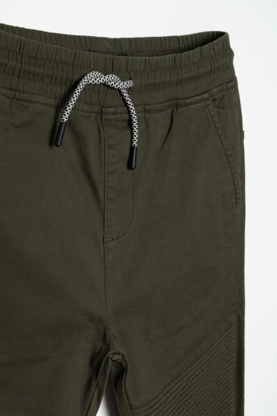 Spodnie dresowe khaki dla chłopaka