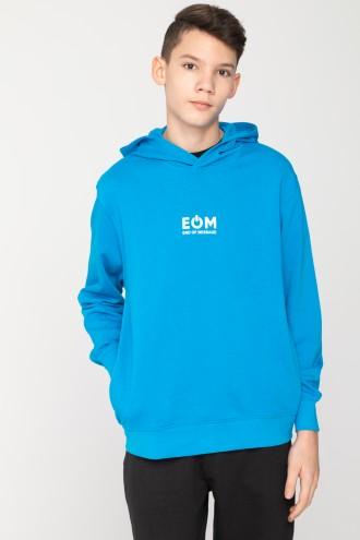 Niebieska chłopięca bluza EOM