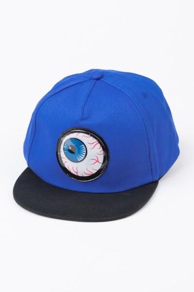 Niebieska czapka z daszkiem dla chłopaka EYE