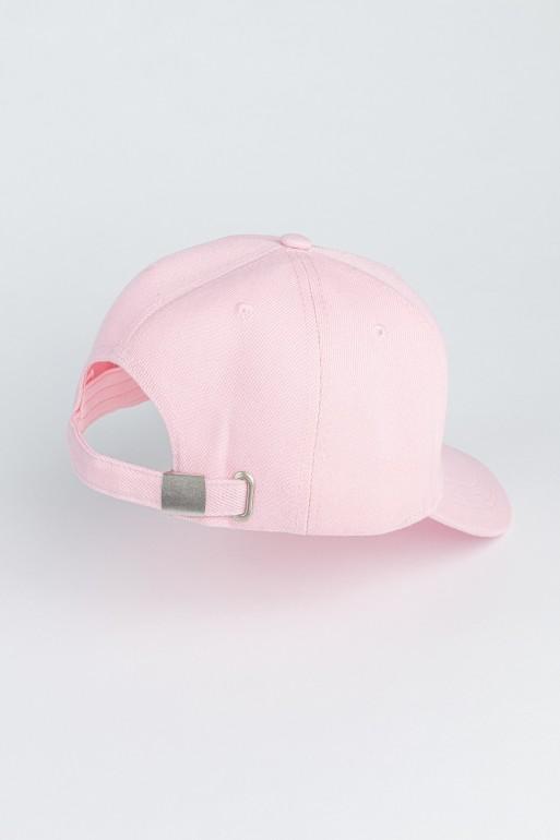 Różowa czapka z daszkiem dla dziewczyny YUMMY