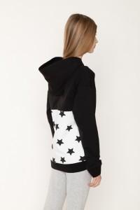 Bluza z kapturem dla dziewczyny STAR