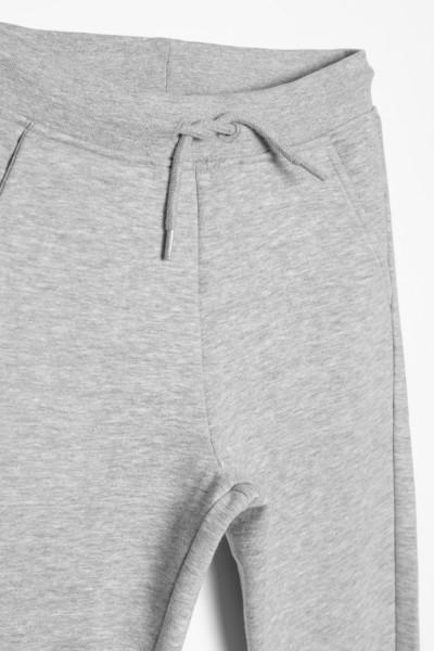 Szare spodnie dresowe dla dziewczyny