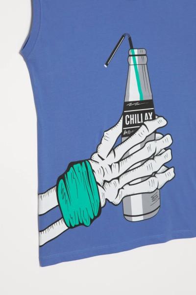 T-shirt bez rękawów CHILLAX