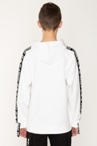 Bluza z kapturem i lampasami dla chłopaka