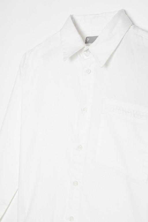 Elegancka biała koszula dla chłopaka