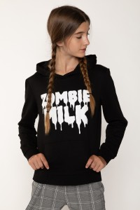 Czarna bluza dla dziewczyny ZOMBIE MILK