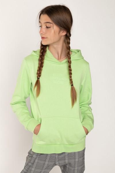 Zielona bluza dla dziewczyny ___