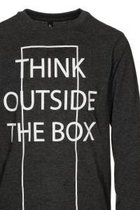 Bluzka Think outside the box
