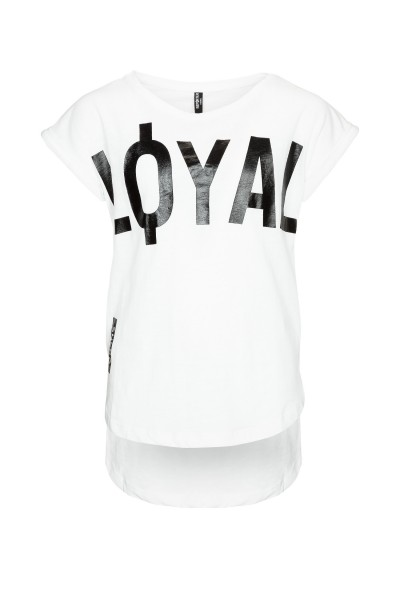 T-shirt LOYAL Oversize'owy