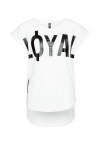 T-shirt LOYAL Oversize'owy