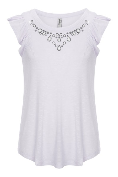 T-shirt Grey Diamonds