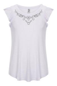 T-shirt Grey Diamonds