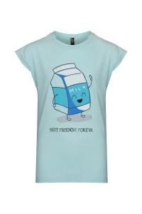 T-shirt Milk is always a good idea