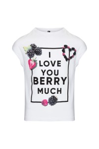 T-shirt Love you berry much