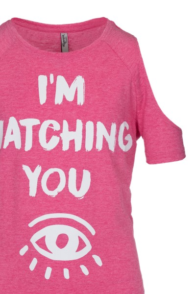 T-shirt Watching You Pink