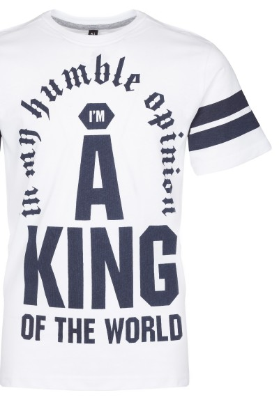 T-Shirt King of the World