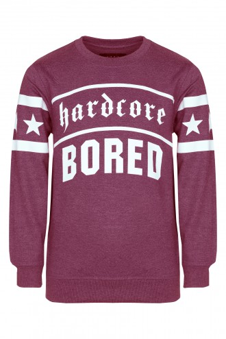 Bluza Hardcore Bored Red