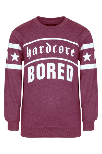 Bluza Hardcore Bored Red