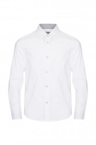 Bawełniana Koszula z Długim Rękawem