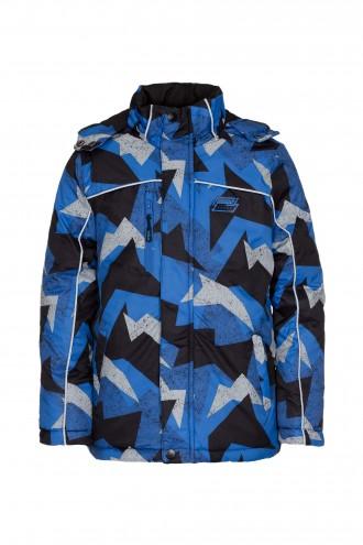 Niebieska kurtka zimowa dla chłopaka